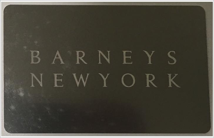 バーニーズニューヨークポイントカード