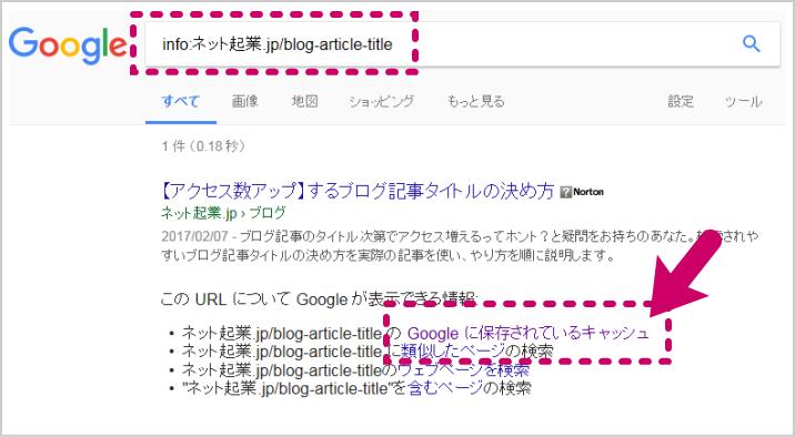 Googleインデックス2