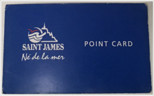 セントジェームスポイントカード