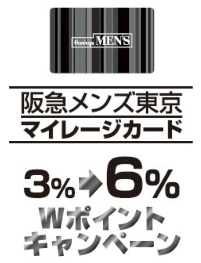 阪急メンズダブルポイント