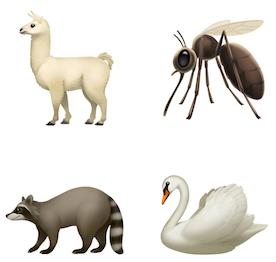 ios12.1絵文字動物